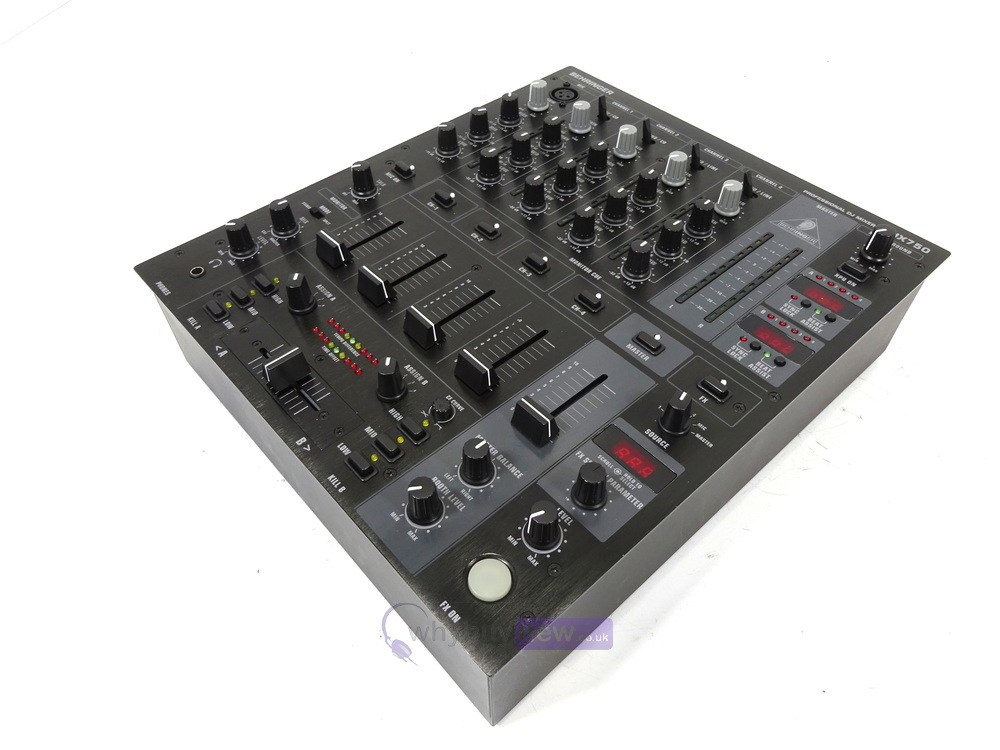 dj equipment dj mixers behringer djx750 dj mixer whybuynew. Black Bedroom Furniture Sets. Home Design Ideas
