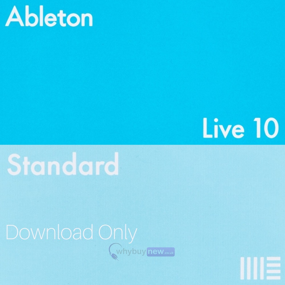 Ableton Live 10 Standard - Boxed Version - Boxed Version