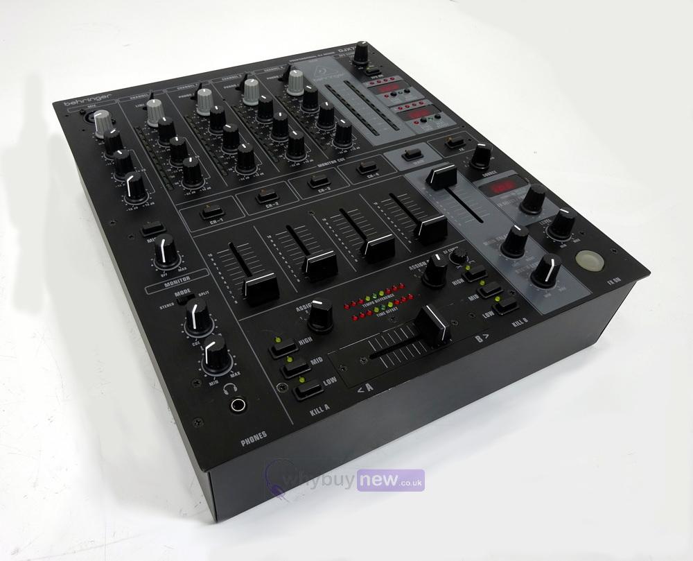 behringer djx750 4 channel dj effects mixer whybuynew. Black Bedroom Furniture Sets. Home Design Ideas