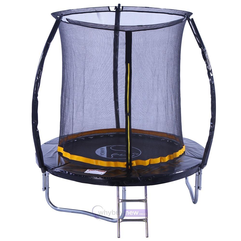 Kanga 6ft Trampoline Kit With Enclosure Whybuynew
