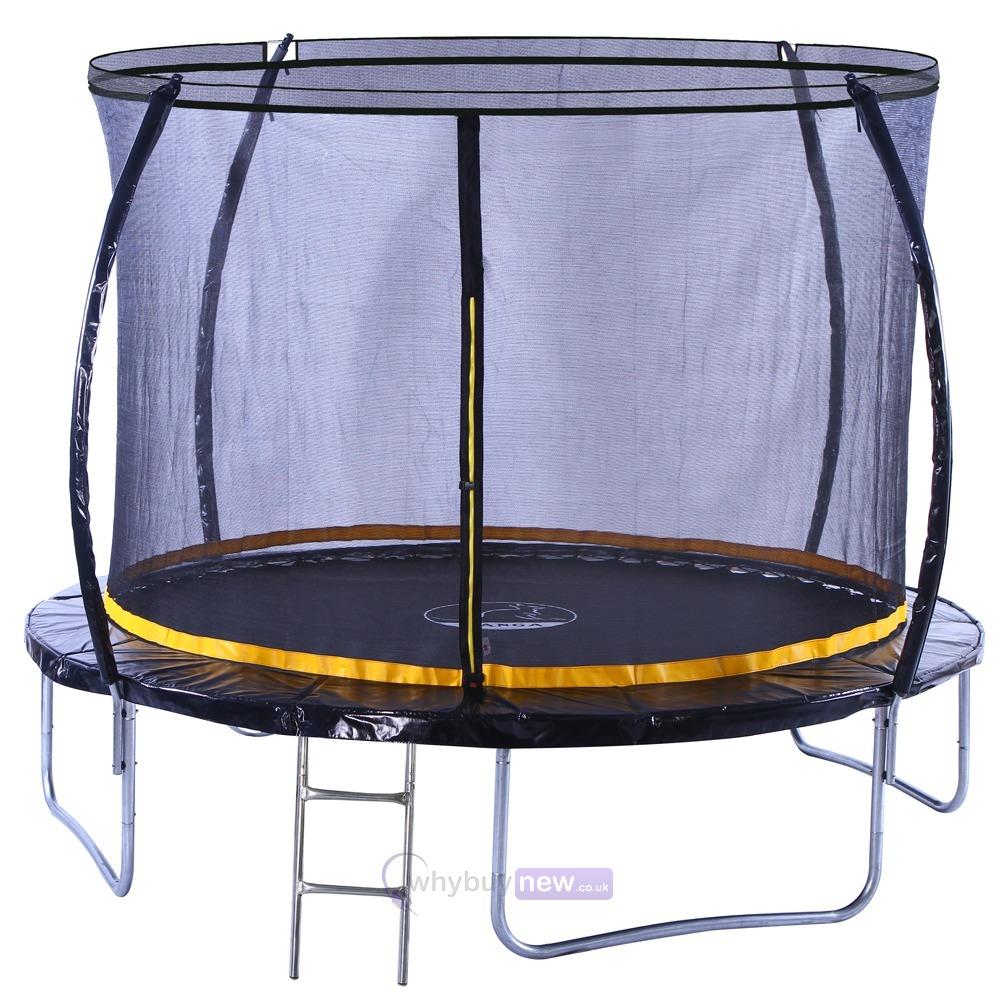 Kanga 10ft Trampoline Kit With Enclosure Etc