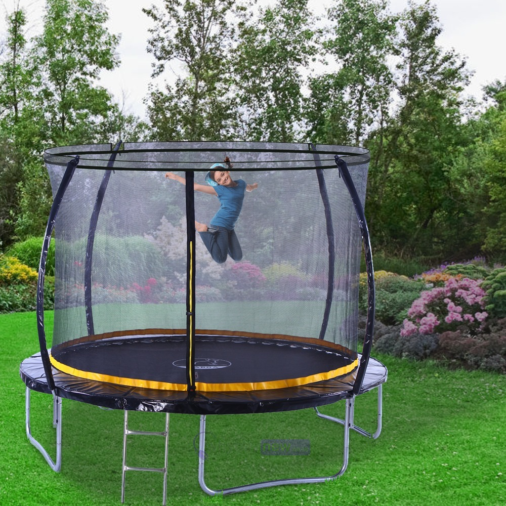 Kanga 10ft Trampoline Kit With Enclosure Etc