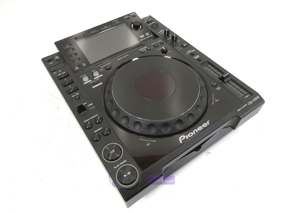 pioneer cdj 2000 dj cd mp3 usb media player whybuynew. Black Bedroom Furniture Sets. Home Design Ideas