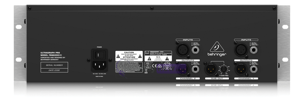 Behringer Ultragraph Pro FBQ6200HD