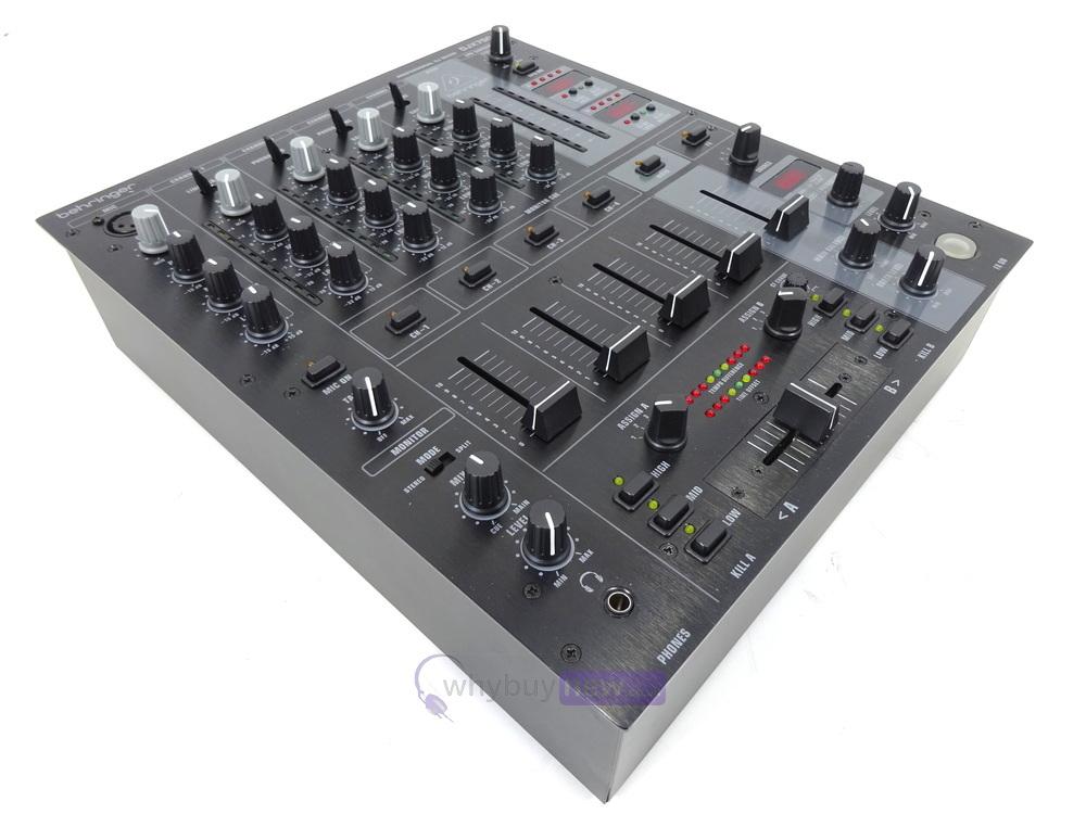dj equipment dj mixers behringer djx750 mixer whybuynew. Black Bedroom Furniture Sets. Home Design Ideas