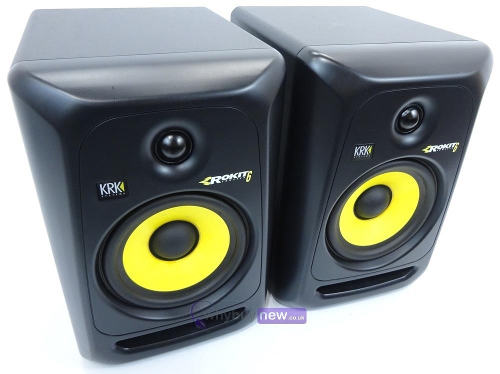 ROKiT: KRK Rokit RP6 G3 Studio Monitor Speakers PAIR