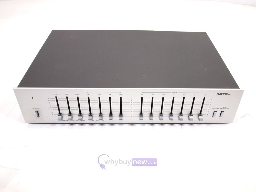 rotel re 500 stereo graphic equalizer whybuynew rh whybuynew co uk Rotel Cheese Rotel Cheese