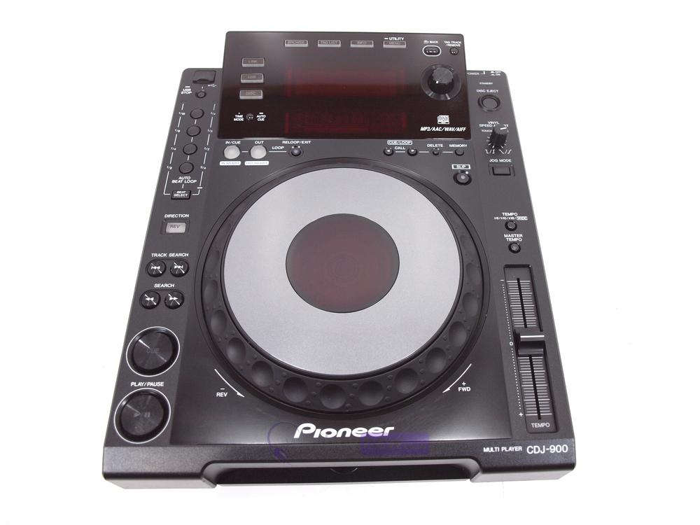 pioneer cdj900 dj cd player whybuynew. Black Bedroom Furniture Sets. Home Design Ideas