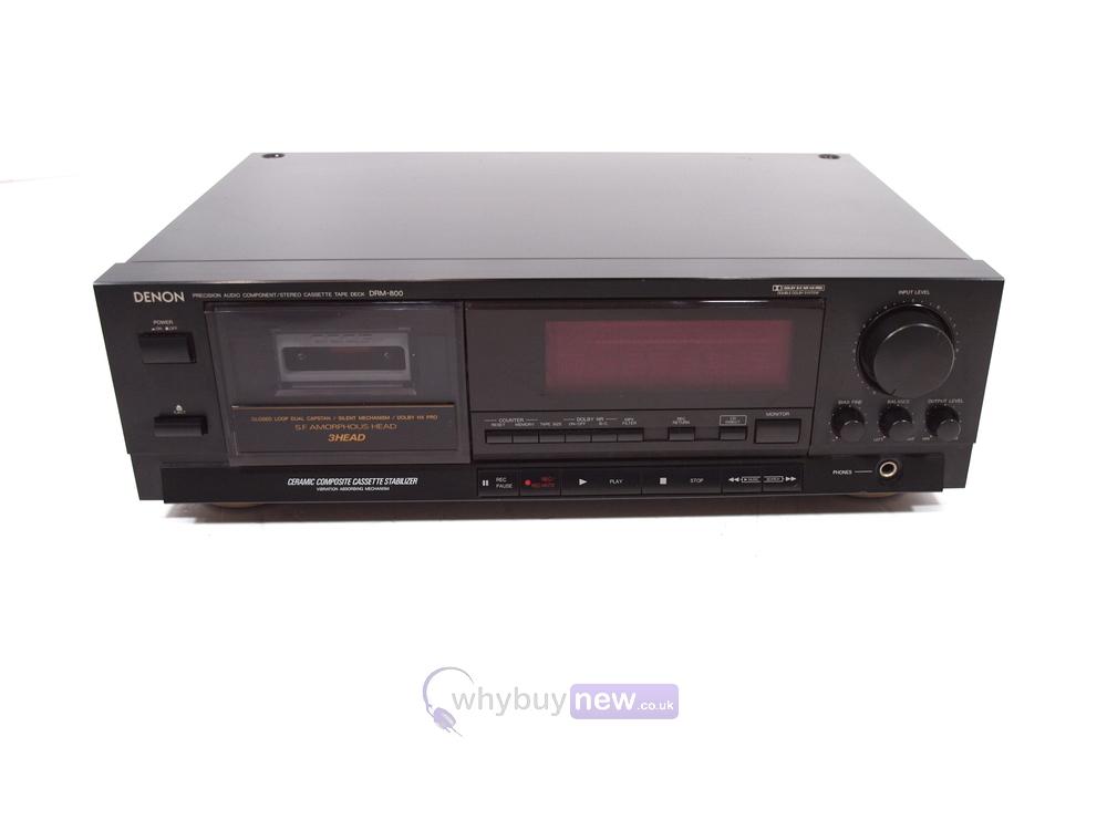 Denon DRM-800 Tape Player