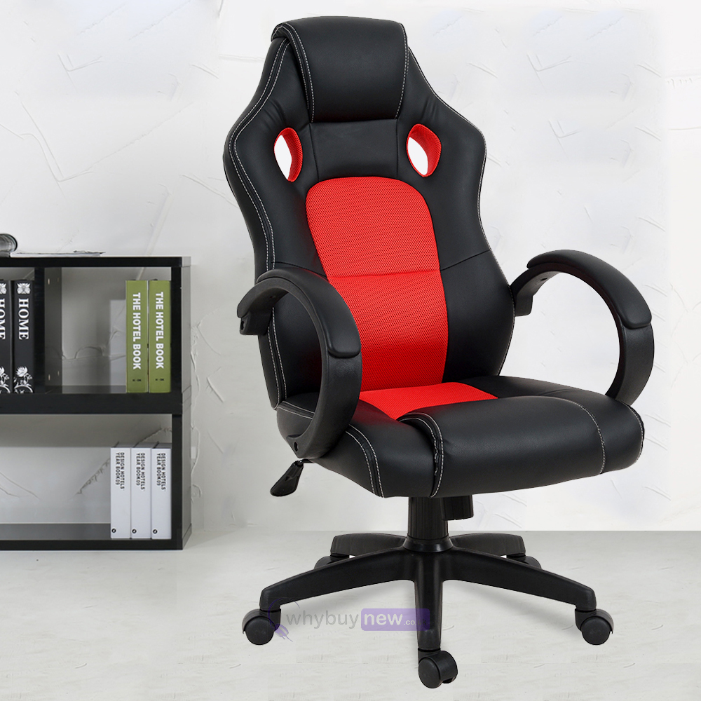 Office Chair Executive Racing Gaming Studio Bucket Seat