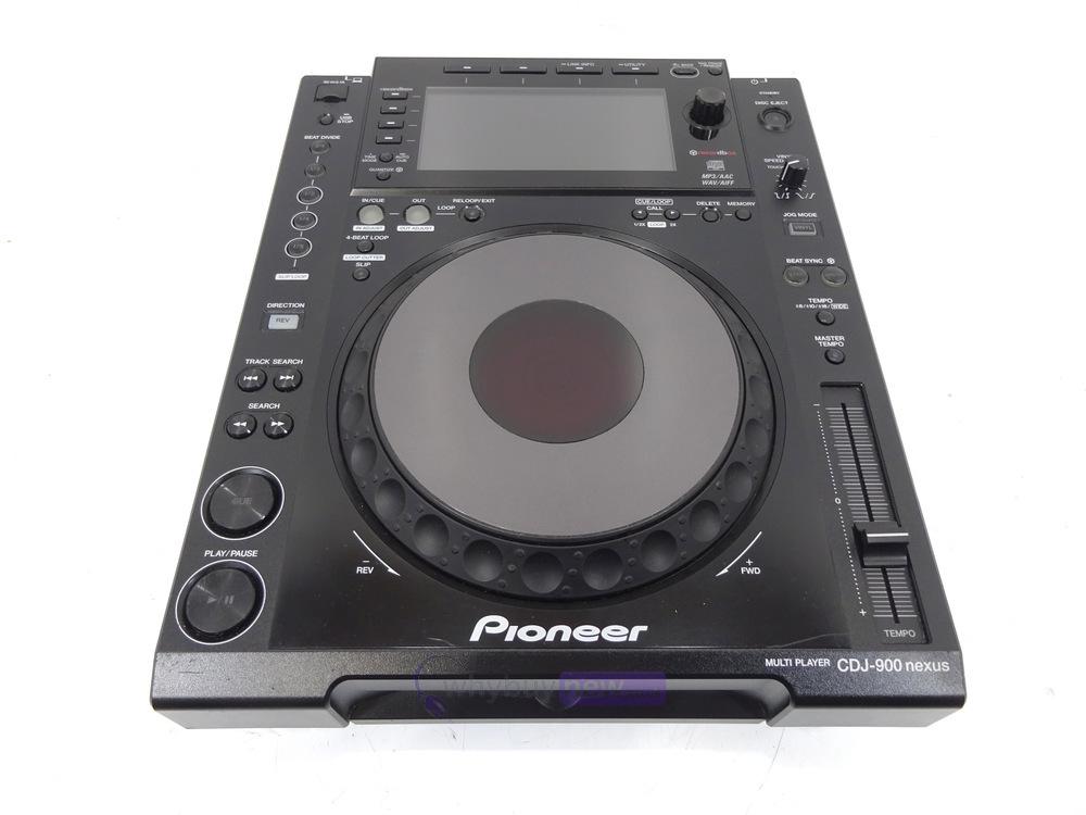 pioneer cdj 900 nexus dj cd player whybuynew. Black Bedroom Furniture Sets. Home Design Ideas
