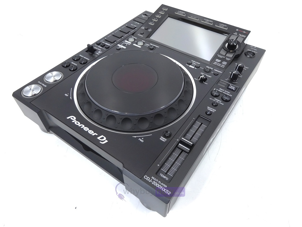 pioneer cdj 2000 nxs2 whybuynew. Black Bedroom Furniture Sets. Home Design Ideas
