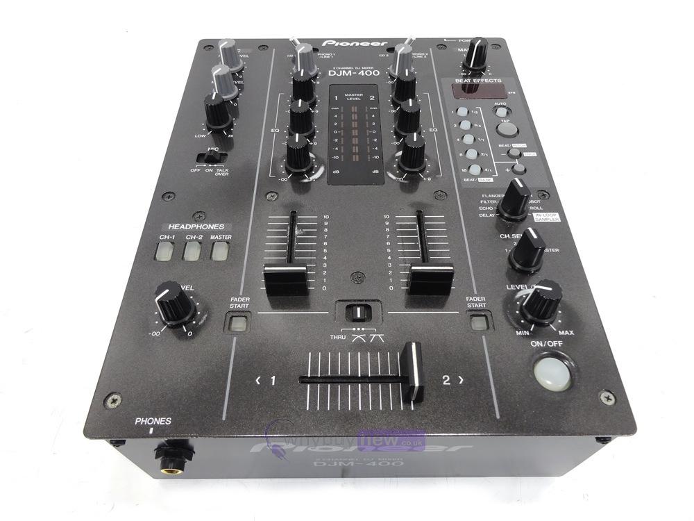 dj equipment dj mixers pioneer djm 400 dj mixer whybuynew. Black Bedroom Furniture Sets. Home Design Ideas