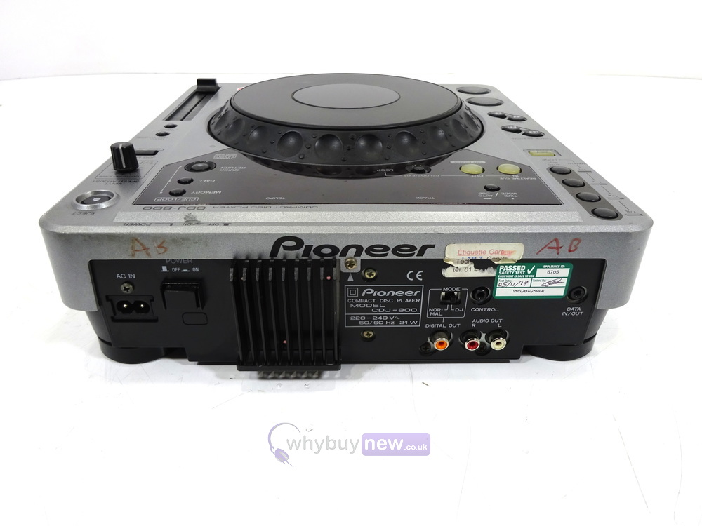 Pioneer Cdj800 Mk1 Cd Player Whybuynew