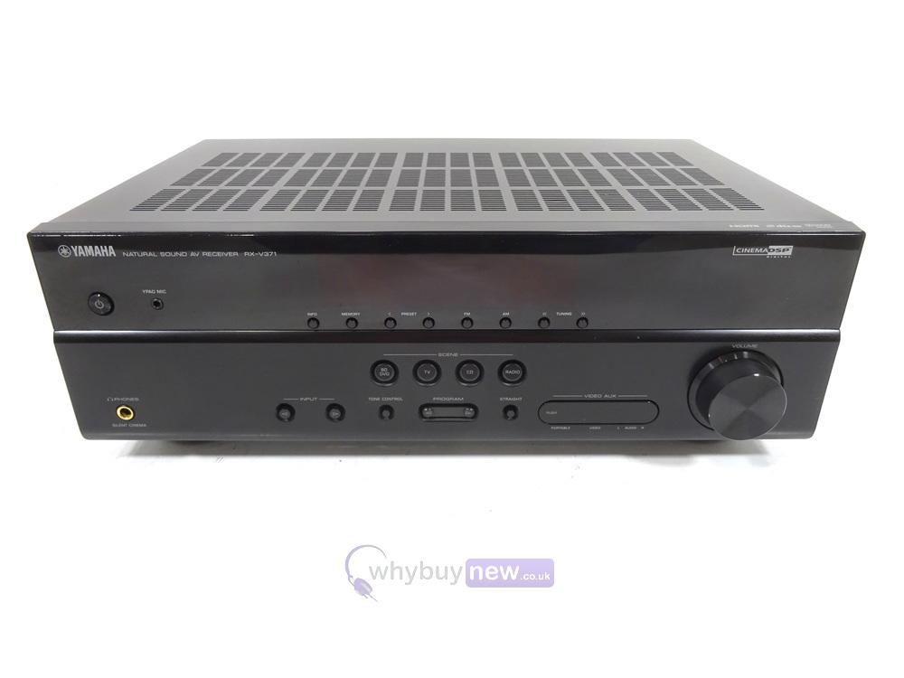 yamaha rx v371 receiver remote