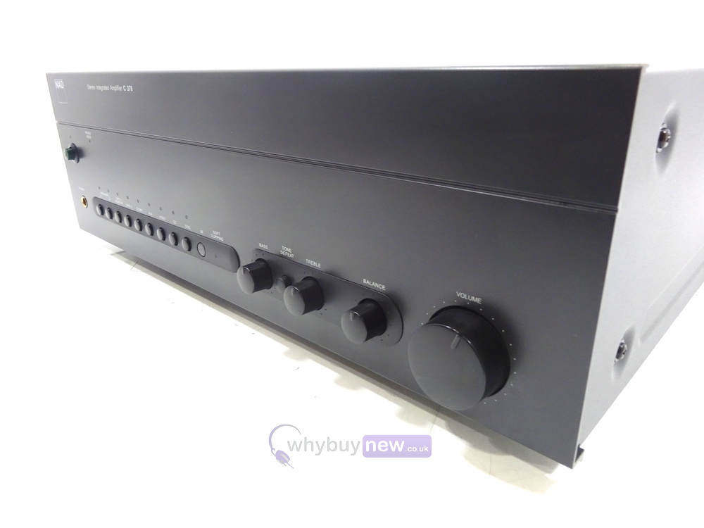 NAD C370 Stereo Integrated Amplifier | WhyBuyNew