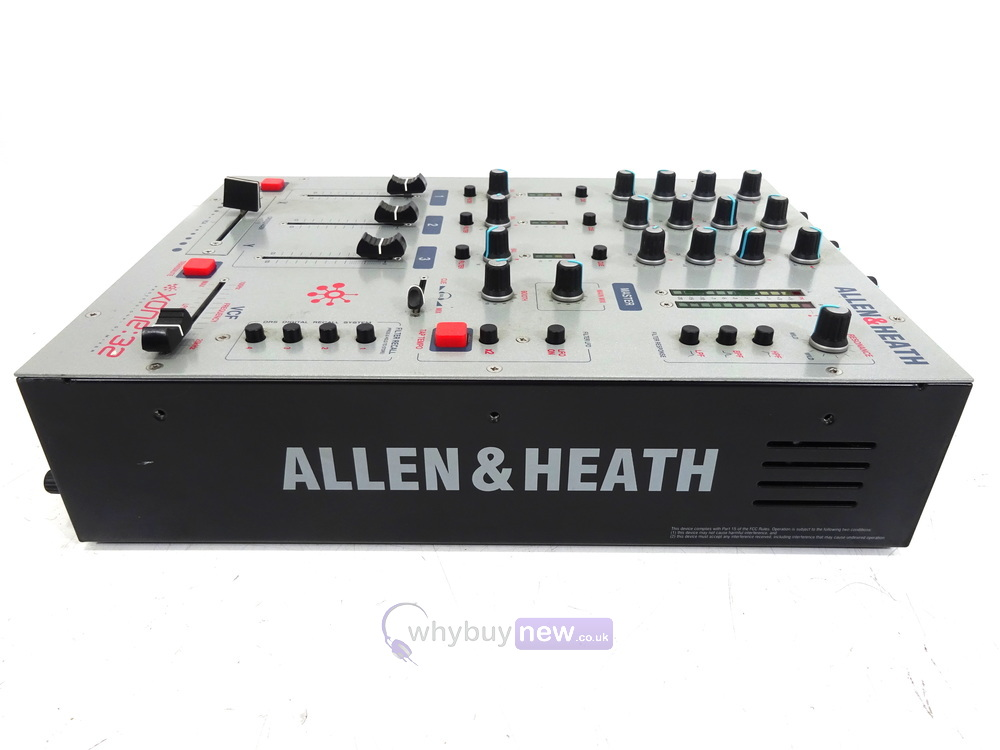 allen and heath xone 32 dj mixer whybuynew. Black Bedroom Furniture Sets. Home Design Ideas