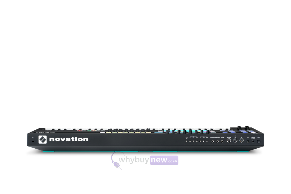 novation 49sl mk iii midi keyboard controller whybuynew. Black Bedroom Furniture Sets. Home Design Ideas