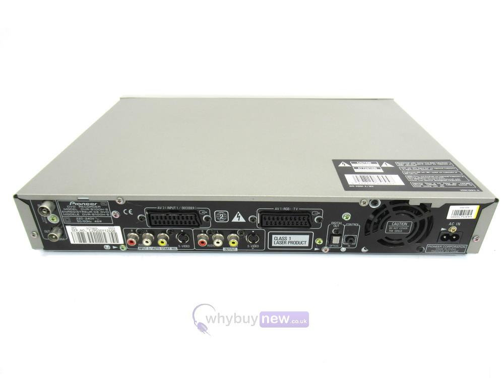 Pioneer DVR-5100H DVD Recorder | WhyBuyNew