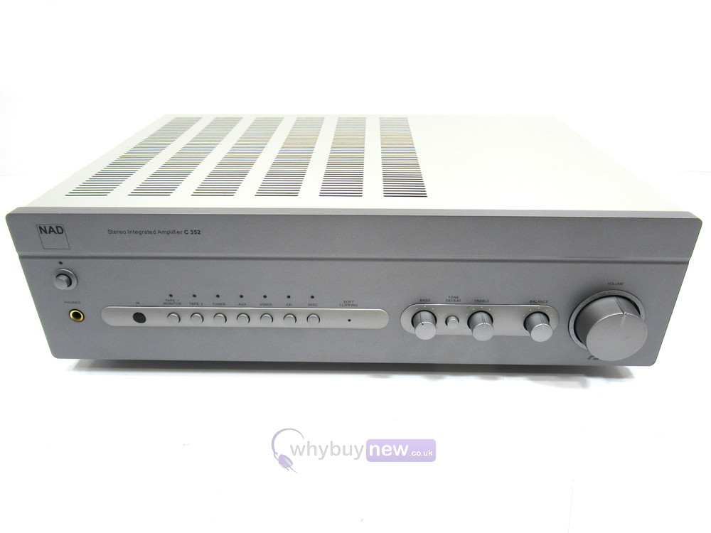 NAD C 352 Stereo Integrated Hi-Fi Amplifier