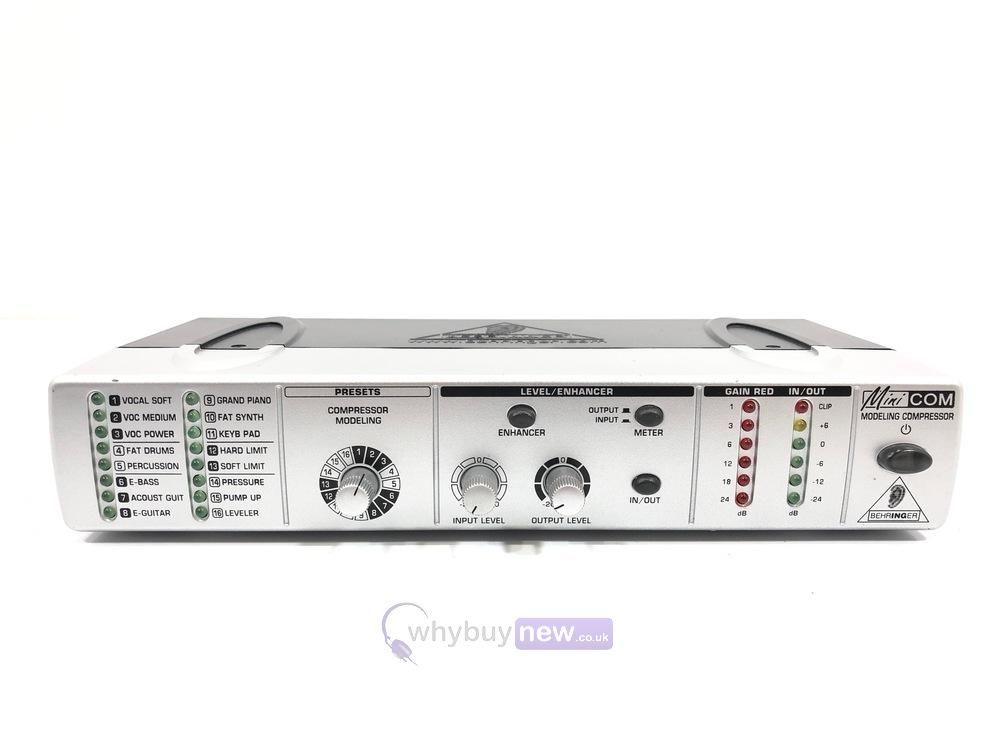 Behringer Minicom COM800 Modeling Compressor
