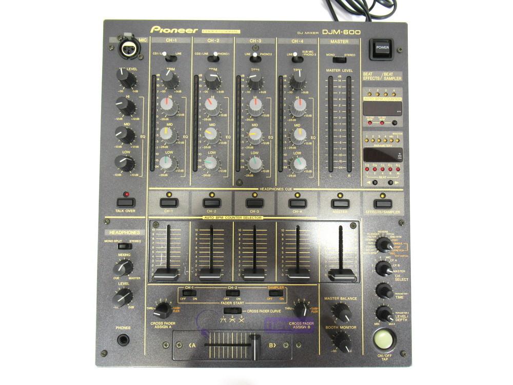 dj equipment dj mixers pioneer djm 600 dj mixer whybuynew. Black Bedroom Furniture Sets. Home Design Ideas