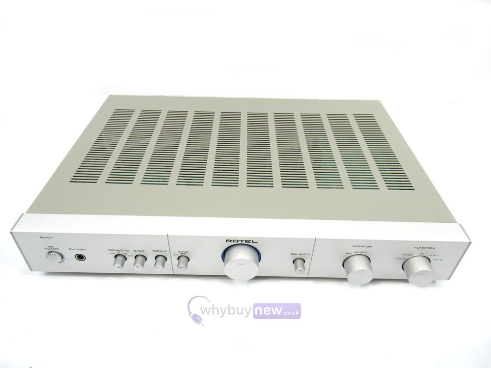 Rotel RA-01 Stereo Integrated Amplifier
