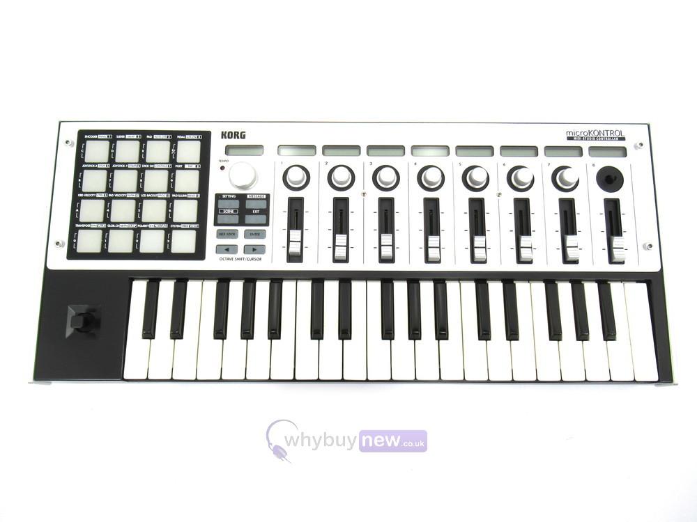 KORG MICROKONTROL MIDI STUDIO CONTROLLER DRIVERS WINDOWS XP