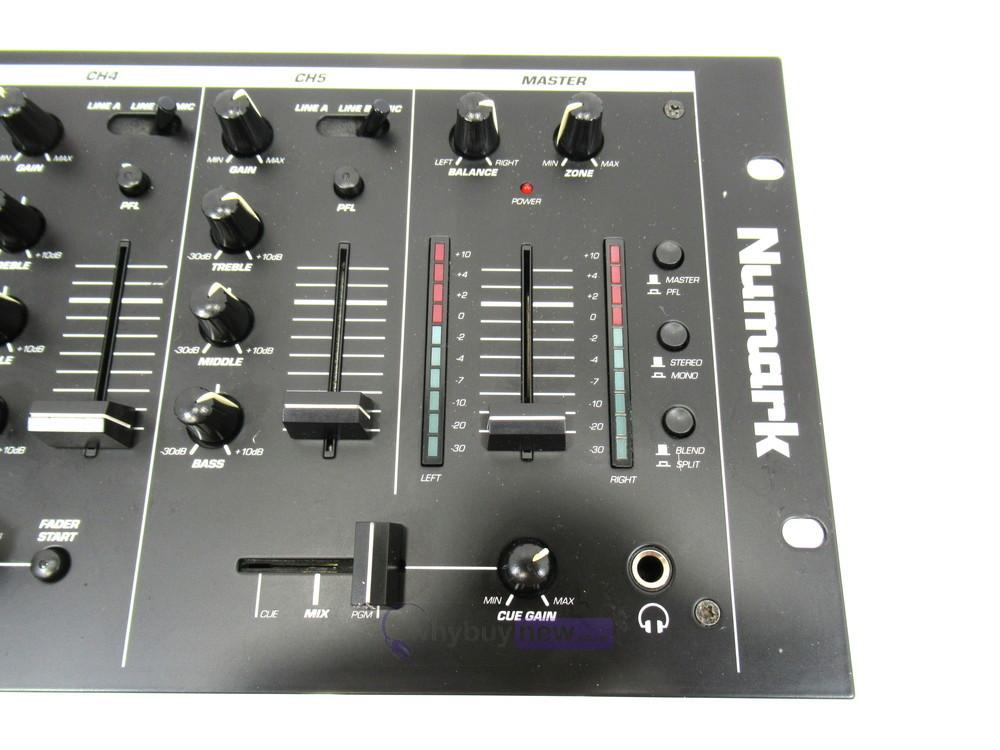 dj equipment dj mixers numark cm200 19 dj mixer whybuynew. Black Bedroom Furniture Sets. Home Design Ideas