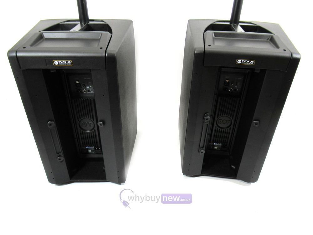 RCF EVOX J8 Active Array PA System (Pair)