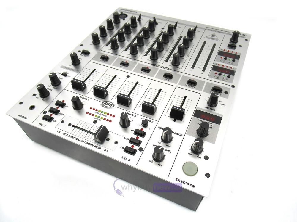 dj equipment dj mixers behringer djx700 dj mixer whybuynew. Black Bedroom Furniture Sets. Home Design Ideas
