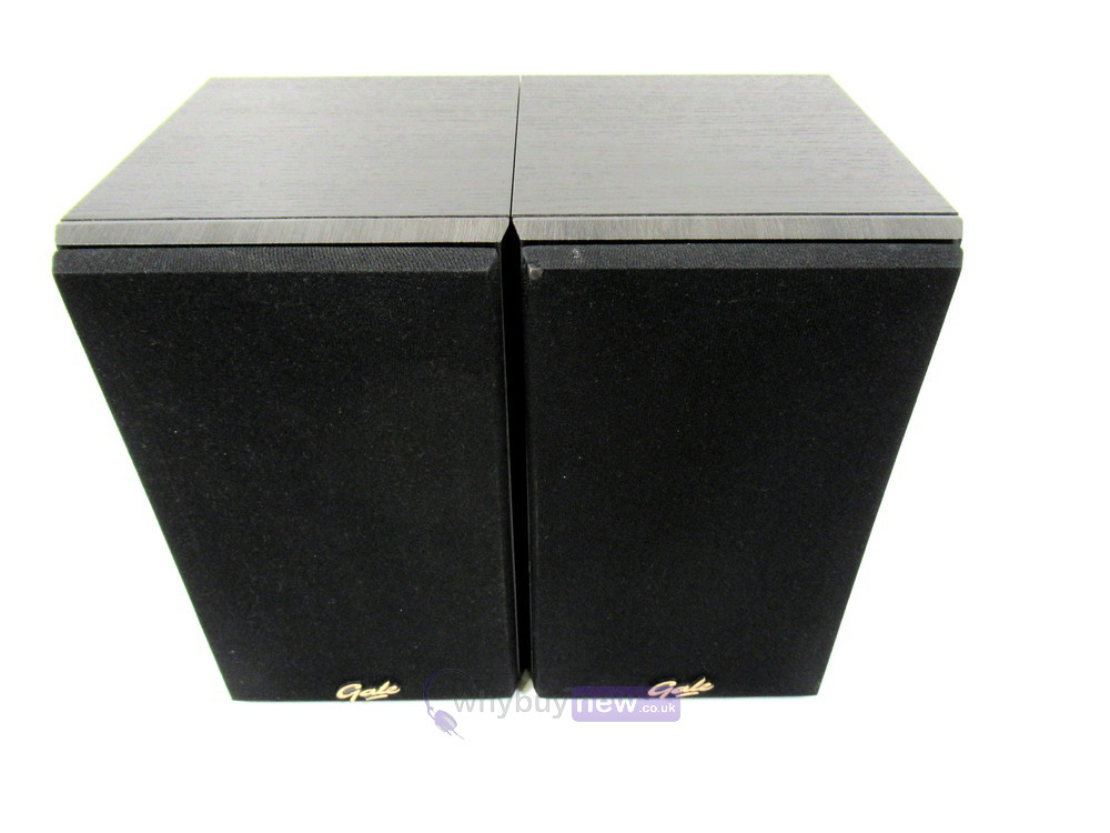 Gale 30 Series 3010S Small Bookshelf Speakers (Black Ash) (Pair)