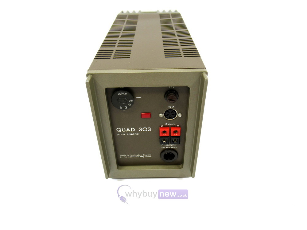 Quad 33 Pre Amp & Quad 303 Power Amp