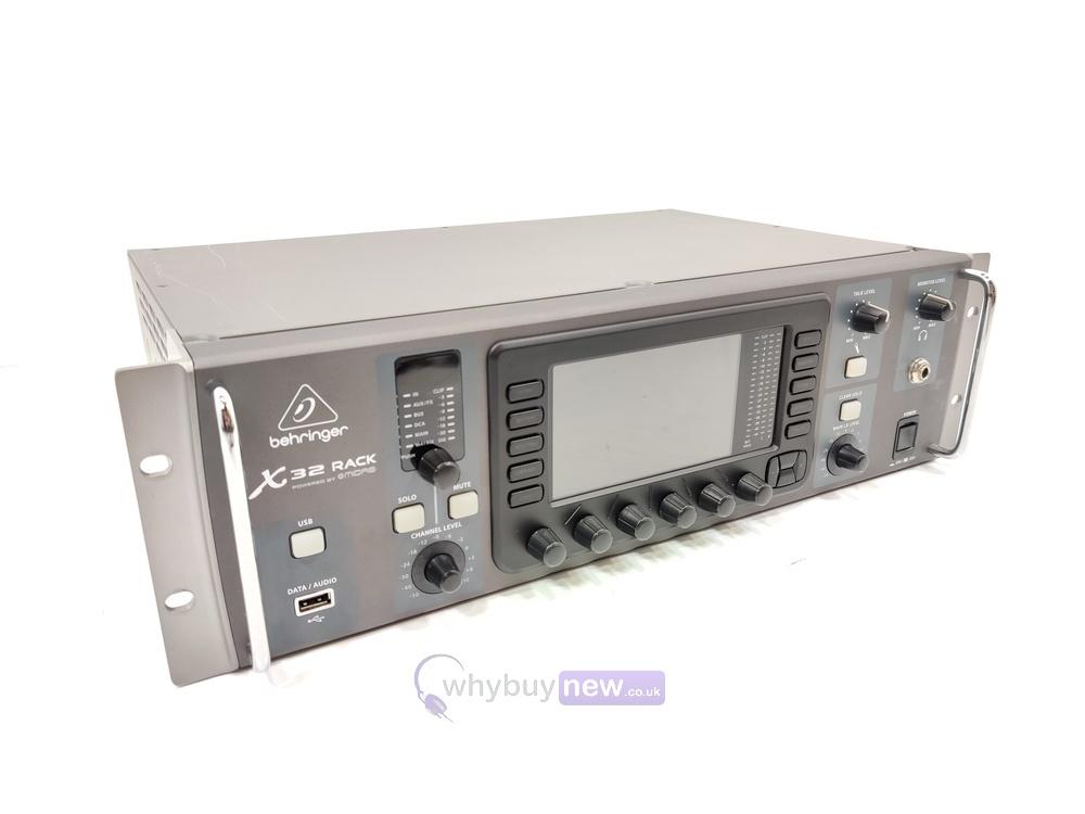 Behringer X32 Rack Digital Mixer (marked)