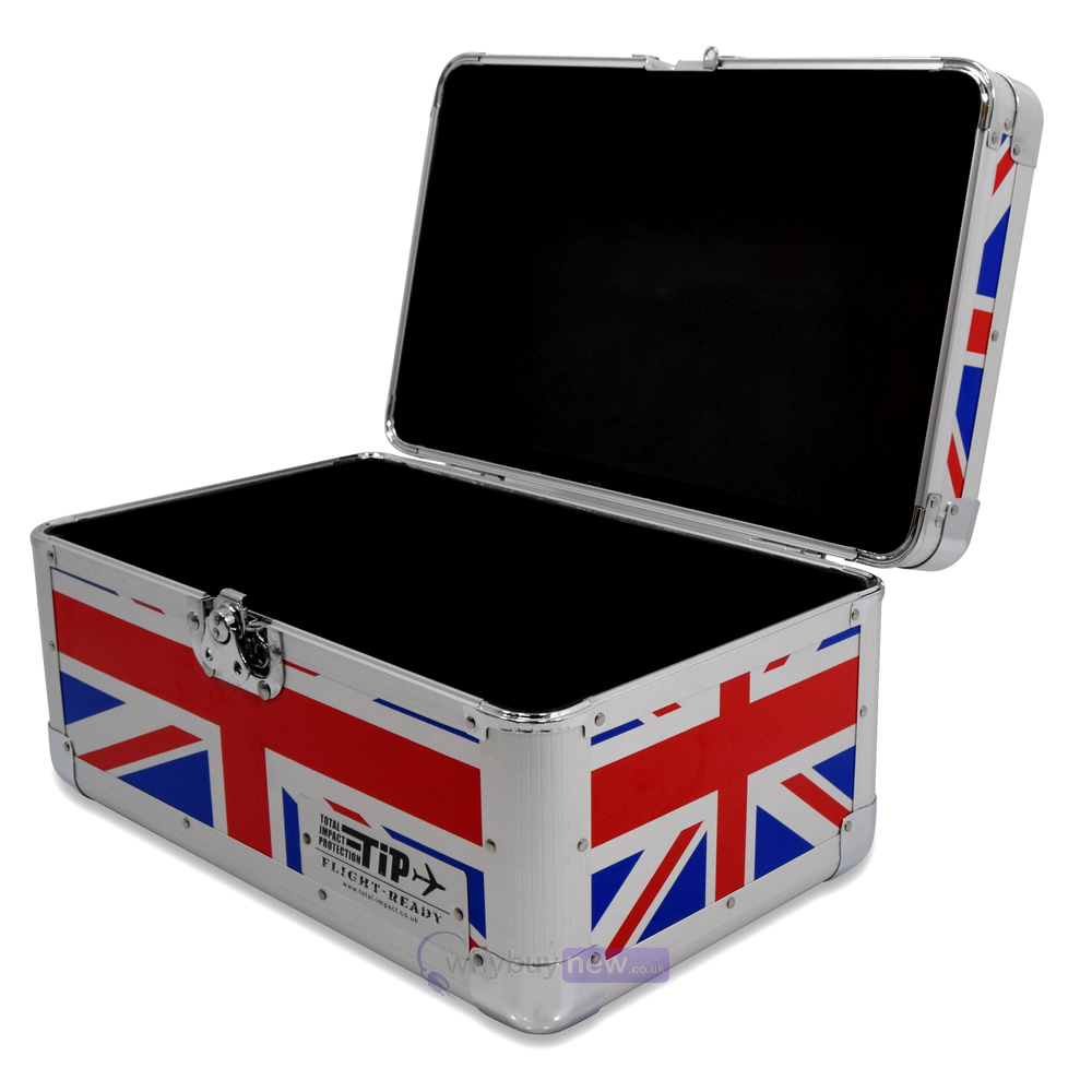 Total Impact Tip 200 7 Quot Vinyl Record Carry Case Union Jack