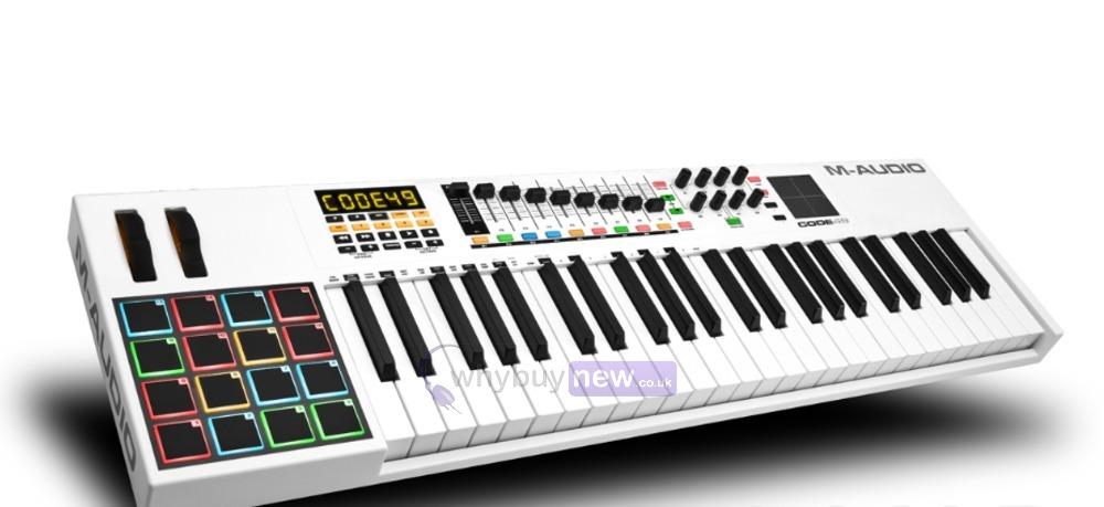 Midi Controller M Audio 49 : m audio code 49 keyboard controller whybuynew ~ Russianpoet.info Haus und Dekorationen