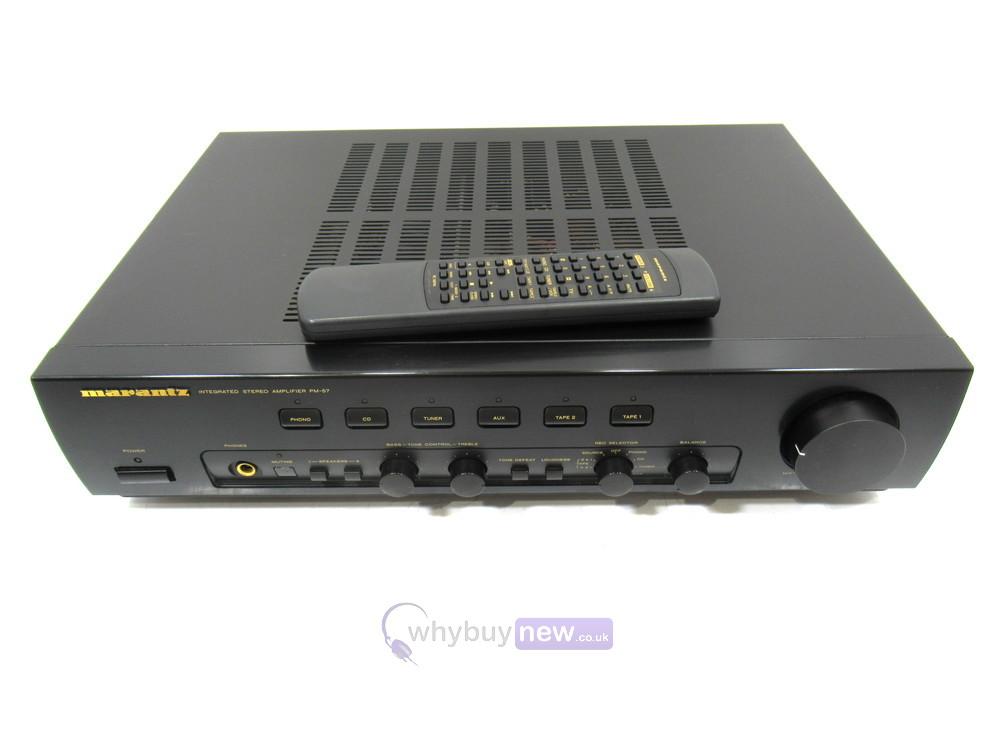 Marantz PM-57 Stereo Integrated Amplifier