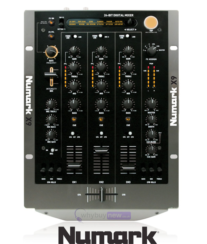 Numark X9 Mixer