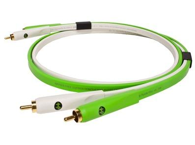 Oyaide NEO d+ RCA Class B White/Green 1.0M
