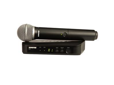 Shure BLX24UK/PG58 Handheld Wireless Vocal System