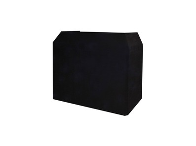 Gorilla / Equinox DJ Booth Replacement Lycra Cloth BLACK