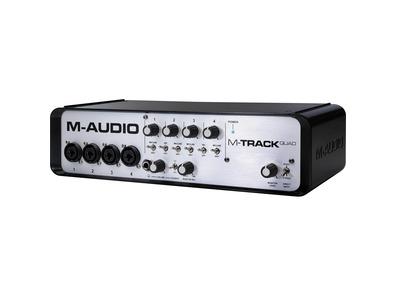 M-Audio M-Track Quad Audio MIDI USB Interface