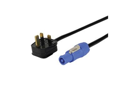 LEDJ to Neutrik Powercon Cable 3m - 1.5mm 3183Y PVC 13A