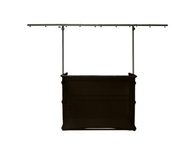 Gorilla GDS 4ft Disco Stand inc Scrim Booth Kit