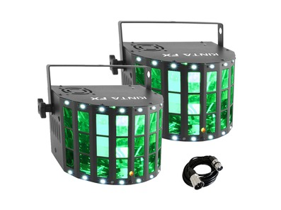 Chauvet Kinta FX (Pair) With Free DMX Cable