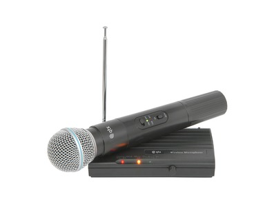 QTX VH45B Handheld Compact VHF Wireless System