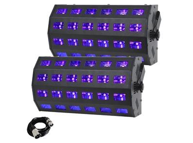 2x Equinox UV Power Flood & Cable