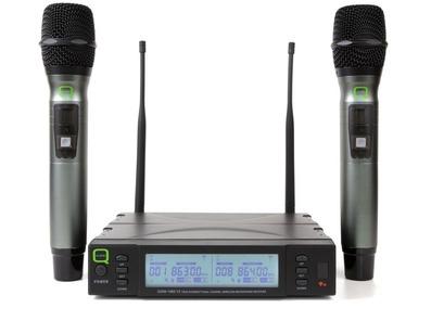 Q-Audio QWM 1960 V2 HH Dual Microphone System