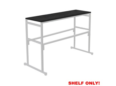 Gorilla Stands 4FT Carpeted Shelf