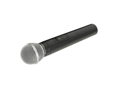 QTX Handheld VHF Microphone for QRPA & QXPA